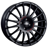 O.Z. SUPERTURISMO GT Matt Black Red Let