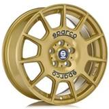 Sparco TERRA Race Gold Blue